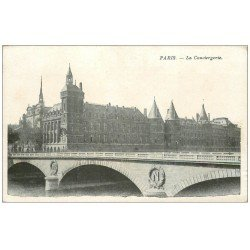 carte postale ancienne PARIS I°. La Conciergerie