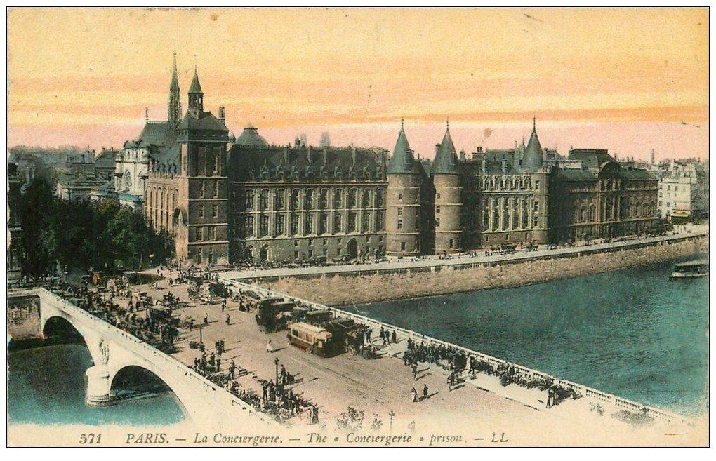 PARIS 01 La Conciergerie 1924