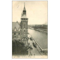carte postale ancienne PARIS I°. La Tour de l'Horloge LL 806