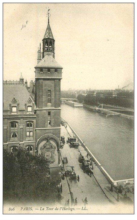 PARIS 01. La Tour de l'Horloge LL 806