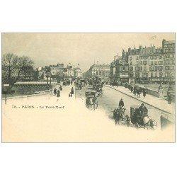 carte postale ancienne PARIS I°. Le Pont Neuf