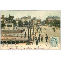 PARIS 01. Le Pont Neuf 1906