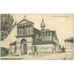 carte postale ancienne 10 TROYES. Eglise Saint-Martin