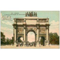 PARIS 01. Carrousel Arc Triomphe