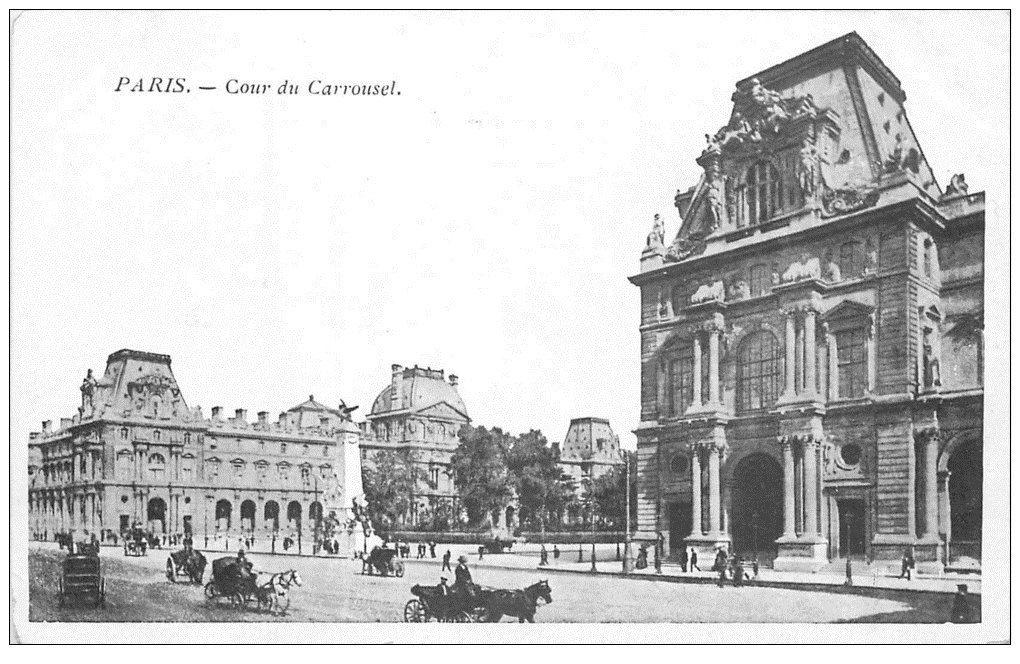 PARIS 01 Cour du Carrousel