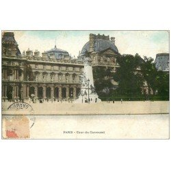 PARIS 01 Cour du Carrousel 1907