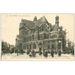 carte postale ancienne PARIS Ier. Eglise Saint-Eustache 2M