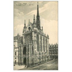 carte postale ancienne PARIS Ier. La Sainte Chapelle Rosace ND 42