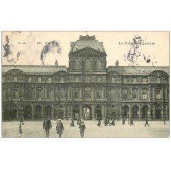 carte postale ancienne PARIS Ier. Le Musée du Louvre 1906