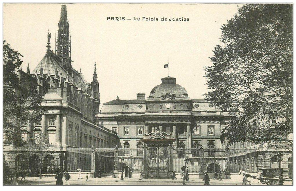 PARIS 01. Le Palais de Justice