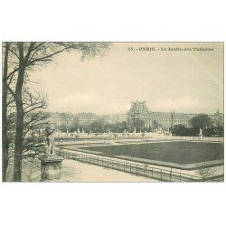 carte postale ancienne PARIS Ier. Les Tuileries le Jardin 35