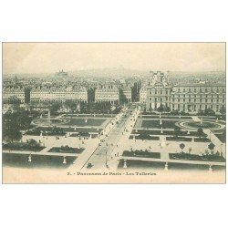 carte postale ancienne PARIS Ier. Les Tuileries n°3