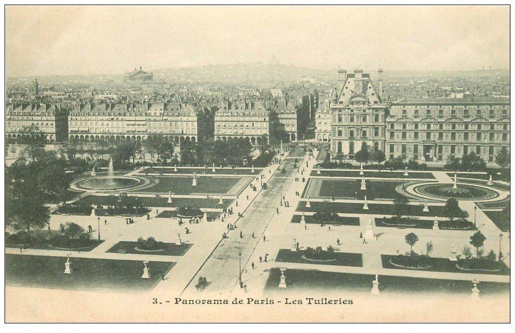 PARIS 01. Les Tuileries