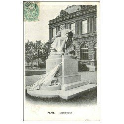 carte postale ancienne PARIS Ier. Monument Messonnier 1905