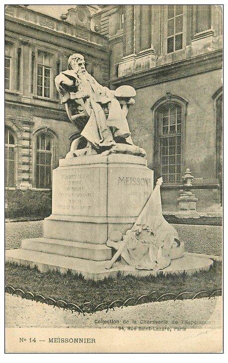 PARIS 01. Monument Messonnier. Chemisier à l'Espérance rue Saint-Lazare