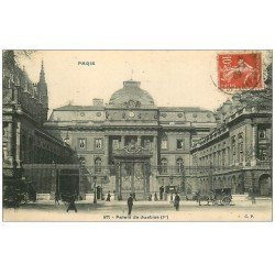 carte postale ancienne PARIS Ier. Palais de Justice 1909