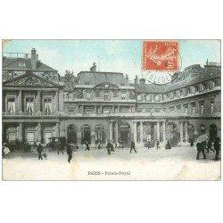carte postale ancienne PARIS Ier. Palais Royal 1910
