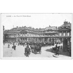 carte postale ancienne PARIS Ier. Palais Royal la Place