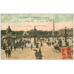 PARIS 01. Place Concorde 1908