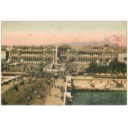 carte postale ancienne PARIS Ier. Place Concorde 1943