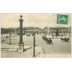 carte postale ancienne PARIS Ier. Place Concorde 388