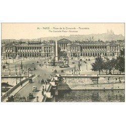 carte postale ancienne PARIS Ier. Place Concorde 64