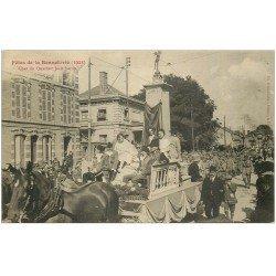 carte postale ancienne 10 TROYES. Fêtes de la Bonneterie. Char du Quartier Jean-Jaurès