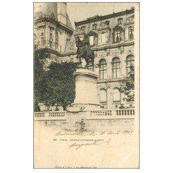 PARIS 01. Statue Etienne Marcel 1903