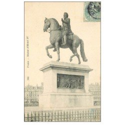 carte postale ancienne PARIS Ier. Statue Henri IV