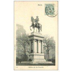 PARIS 01. Statue Lafayette 1903