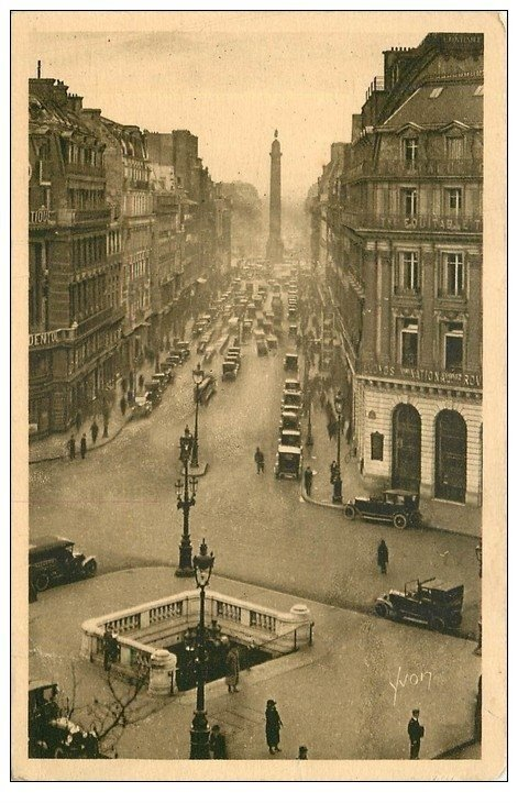 PARIS 02 Bouche du Métropolitain Rue de la Paix