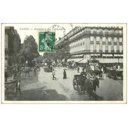 PARIS 02 Boulevard des Capucines 1908