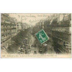 PARIS 02. Boulevard Montmartre 1911