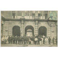 PARIS 02 Garde Républicaine. Caserne de la Banque l'intérieur 1905