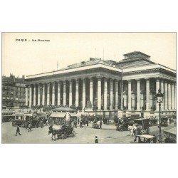 PARIS 02 La Bourse. Taxis, Métropolitain et Attelages