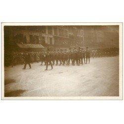 carte postale ancienne PARIS. Funérailles Maréchal Foch 1929. Aviateurs Anglais