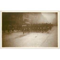 PARIS. Funérailles Maréchal Foch 1929. Bersagliers ou Bersaglieri