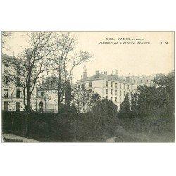 carte postale ancienne PARIS. Hôpital Hôpitaux. Maison de Retraite Rossini