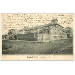 carte postale ancienne PARIS. Hôpitaux Hôpital Goüin 1903