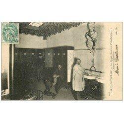 PARIS. Les Egouts Chambre d'Egoutiers Service assainissement 1906