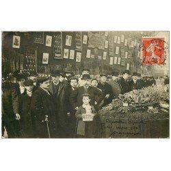 Superbe Carte Photo PARIS 15. Porte de Versailles. Exposition Agricole 1908