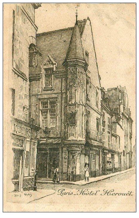 ANCIEN PARIS. Hôtel Herouêt par Robin