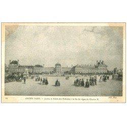 ANCIEN PARIS 01. Jardin Palais des Tuileries
