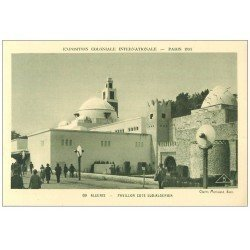 carte postale ancienne EXPOSITION COLONIALE INTERNATIONALE PARIS 1931. Algérie 69