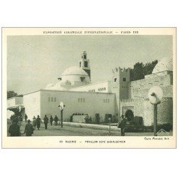 carte postale ancienne EXPOSITION COLONIALE INTERNATIONALE PARIS 1931. Algérie Sud-Algérien