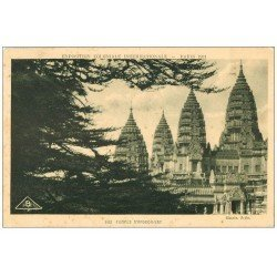 carte postale ancienne EXPOSITION COLONIALE INTERNATIONALE PARIS 1931. Angkor-Vat 163