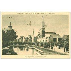 carte postale ancienne EXPOSITION COLONIALE INTERNATIONALE PARIS 1931. Avenue Colonies Françaises