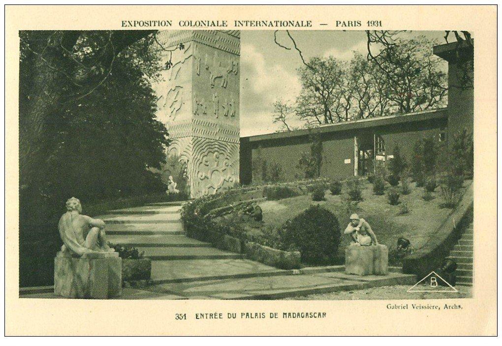 EXPOSITION COLONIALE INTERNATIONALE PARIS 1931. Madagascar