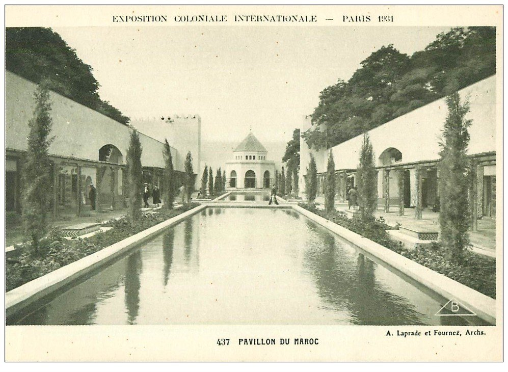 carte postale ancienne EXPOSITION COLONIALE INTERNATIONALE PARIS 1931. Maroc 437
