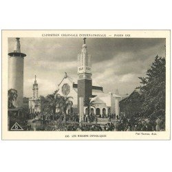 carte postale ancienne EXPOSITION COLONIALE INTERNATIONALE PARIS 1931. Missions Catholiques